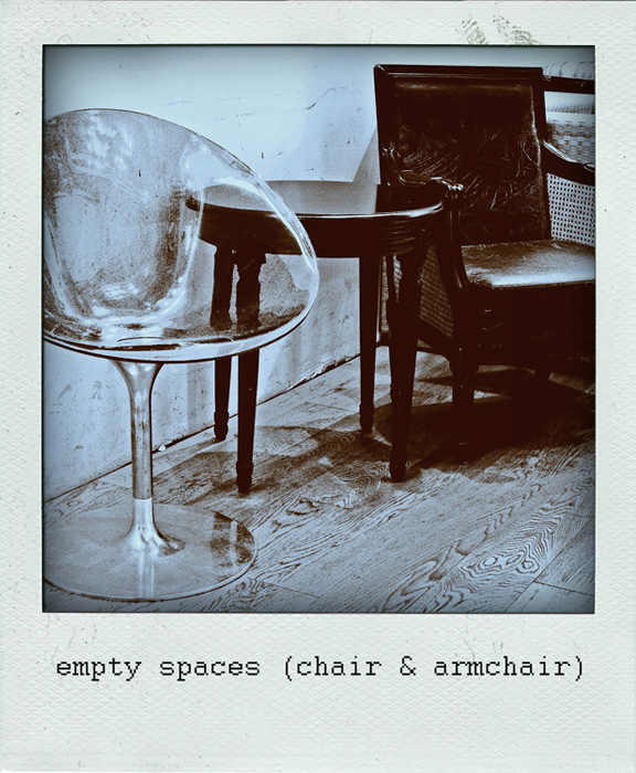 Empty Space (chair & armchair)